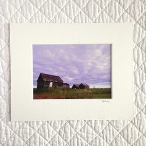 """Homestead"" 5x7 Photography Print"